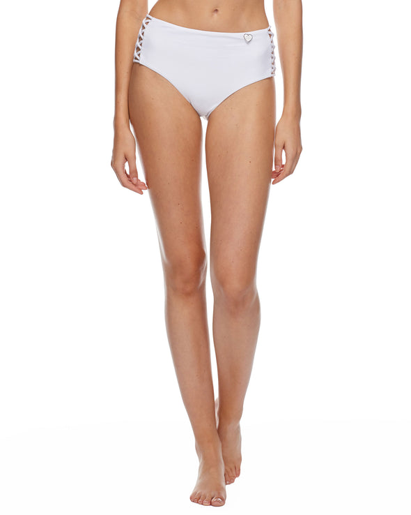Smoothies Retro Swim Bottom - Snow