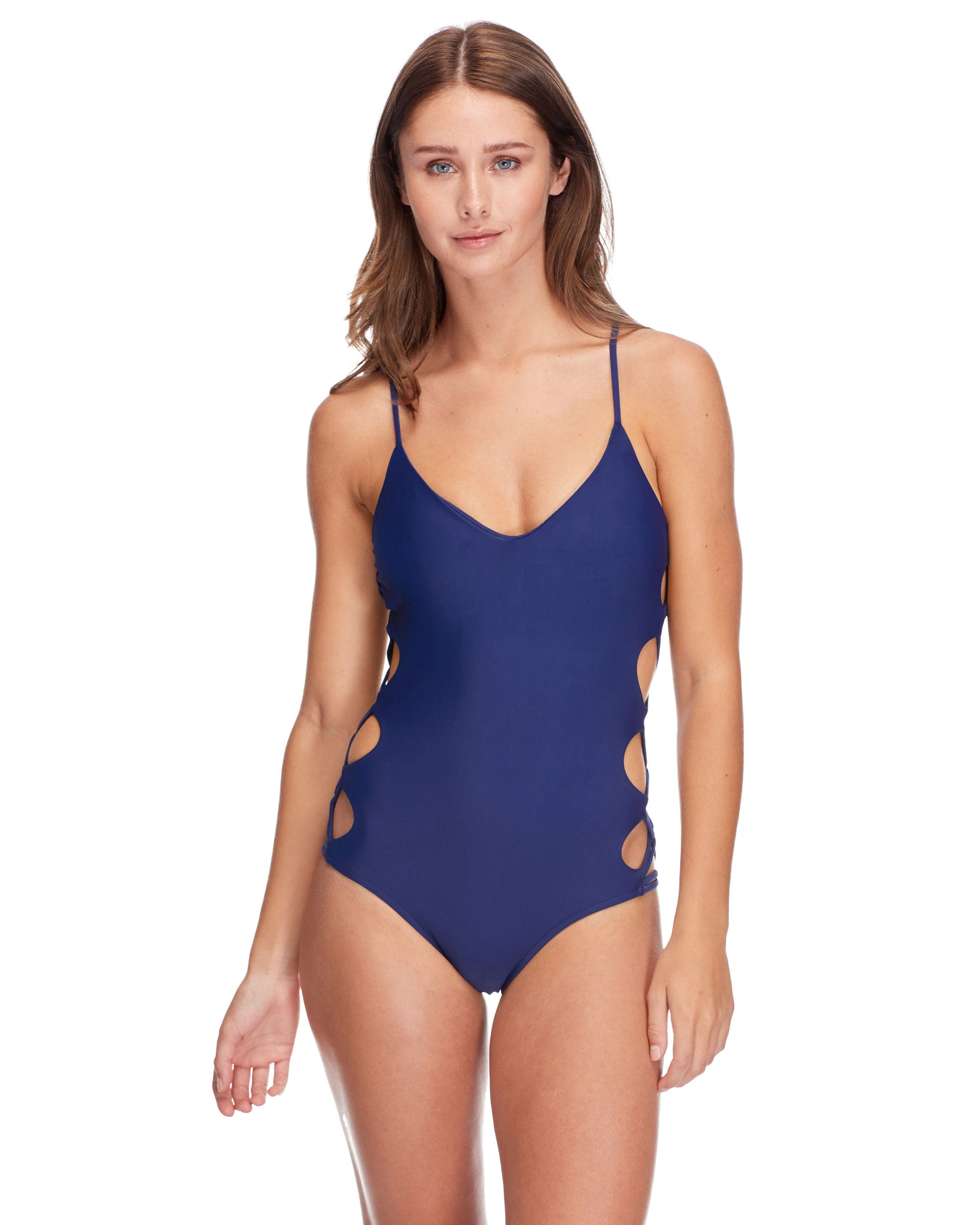 Smoothies Crissy One-Piece Swimsuit - Midnight