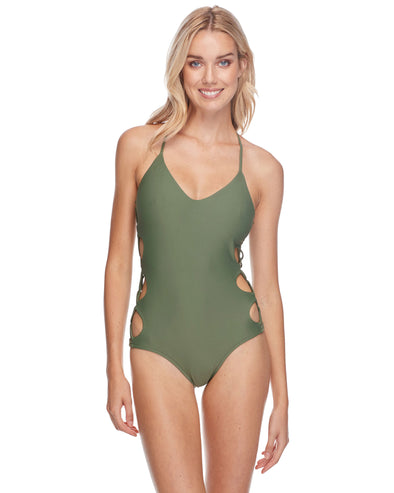Smoothies Crissy One-Piece Swimsuit - Cactus