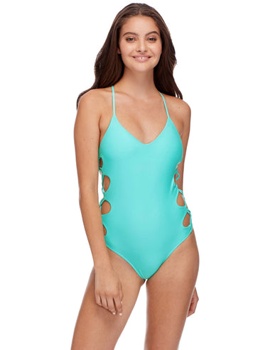Smoothies Crissy One-Piece Swimsuit - Sea Mist
