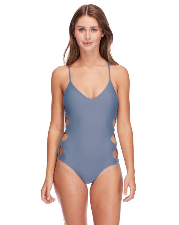 Smoothies Crissy One-Piece Swimsuit - Storm