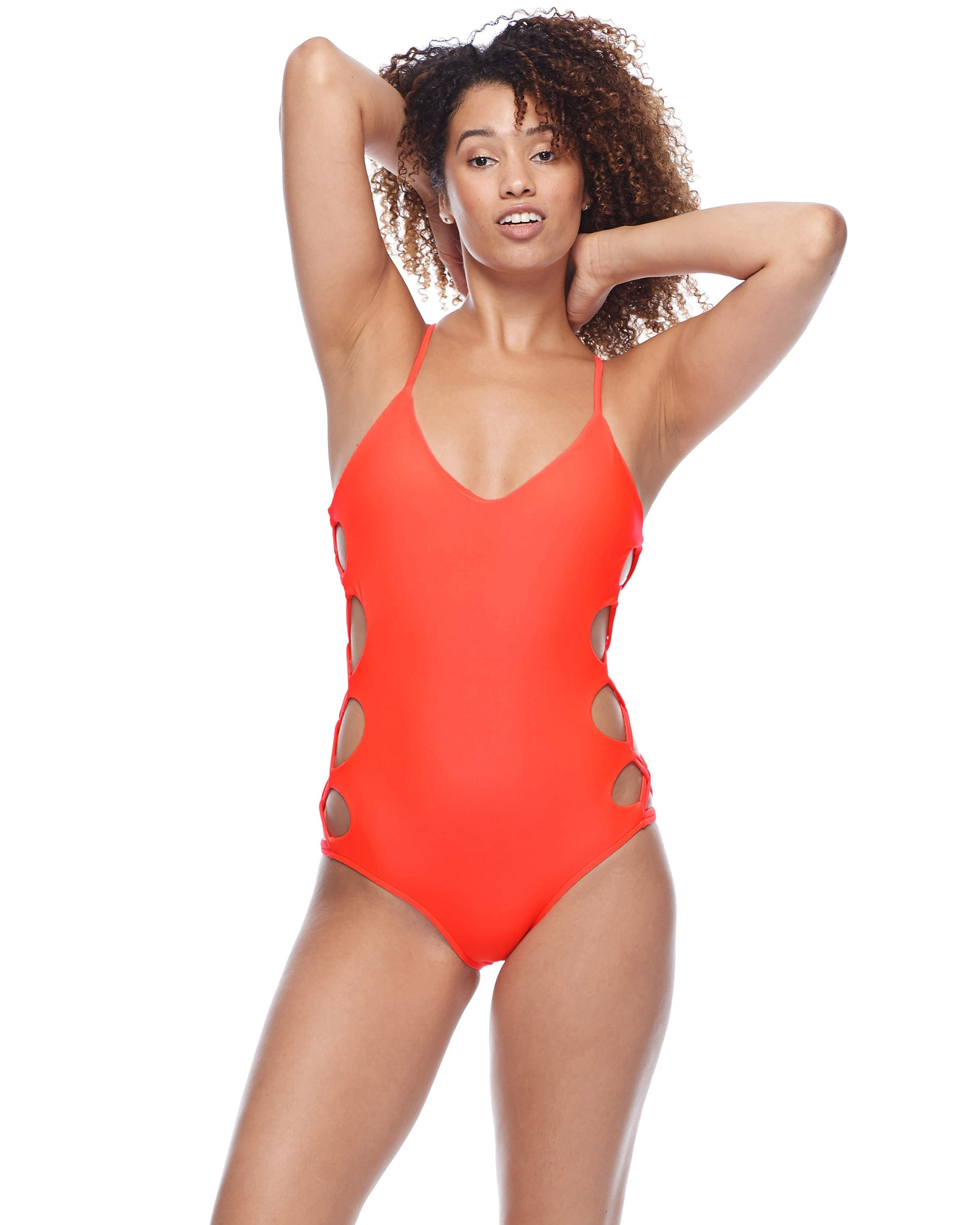 Smoothies Crissy One-Piece Swimsuit - Spark