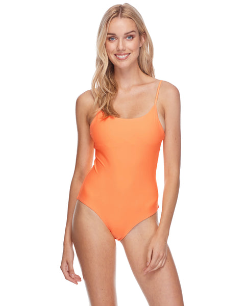 Smoothies Simplicity One-Piece Swimsuit - Mango