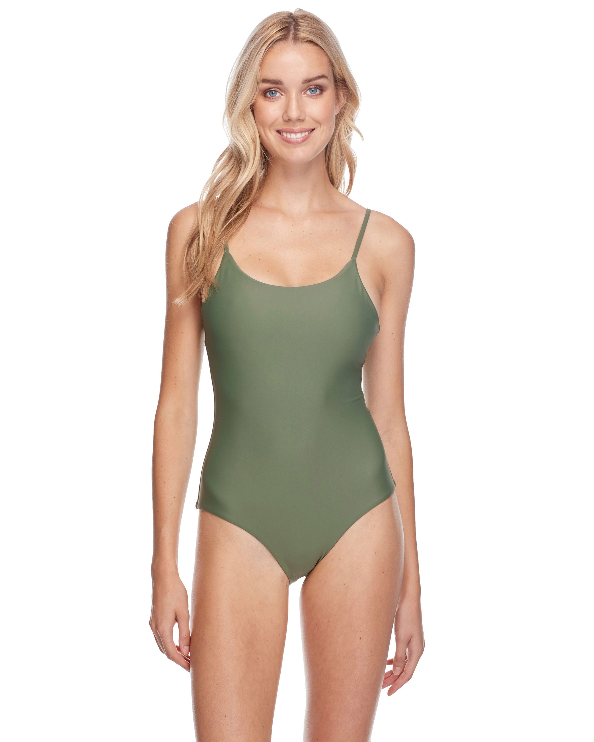 Smoothies Simplicity One-Piece Swimsuit - Cactus