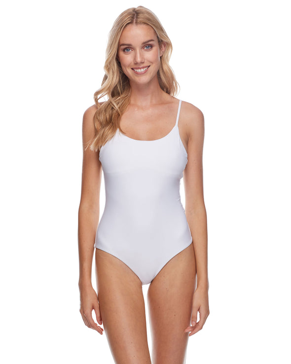Smoothies Simplicity One-Piece Swimsuit - Snow