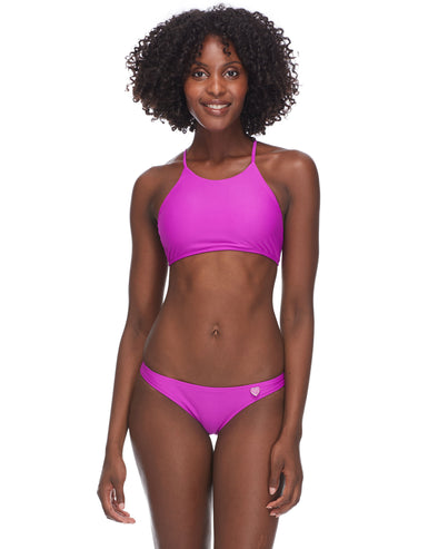 Smoothies Elena Halter Swim Top - Magnolia