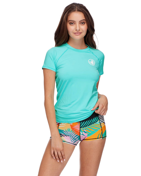 Smoothies In Motion Rash Guard - Sea Mist