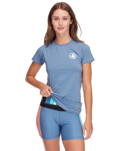Smoothies In Motion Rash Guard - Storm