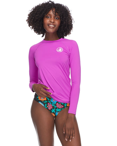 Smoothies Sleek Rash Guard - Magnolia