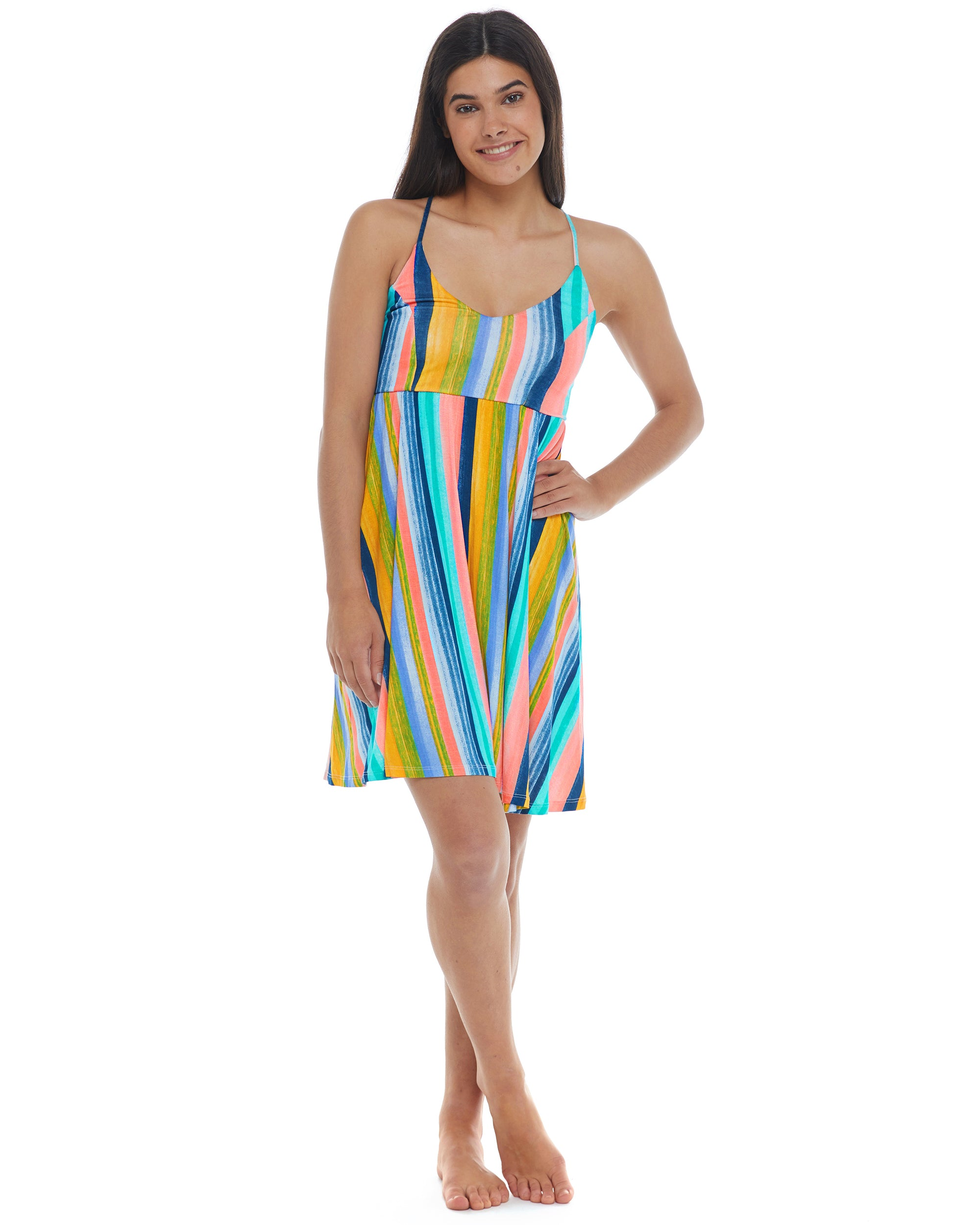 Havana Nights Ivy Cover-Up Dress - Combo Multi
