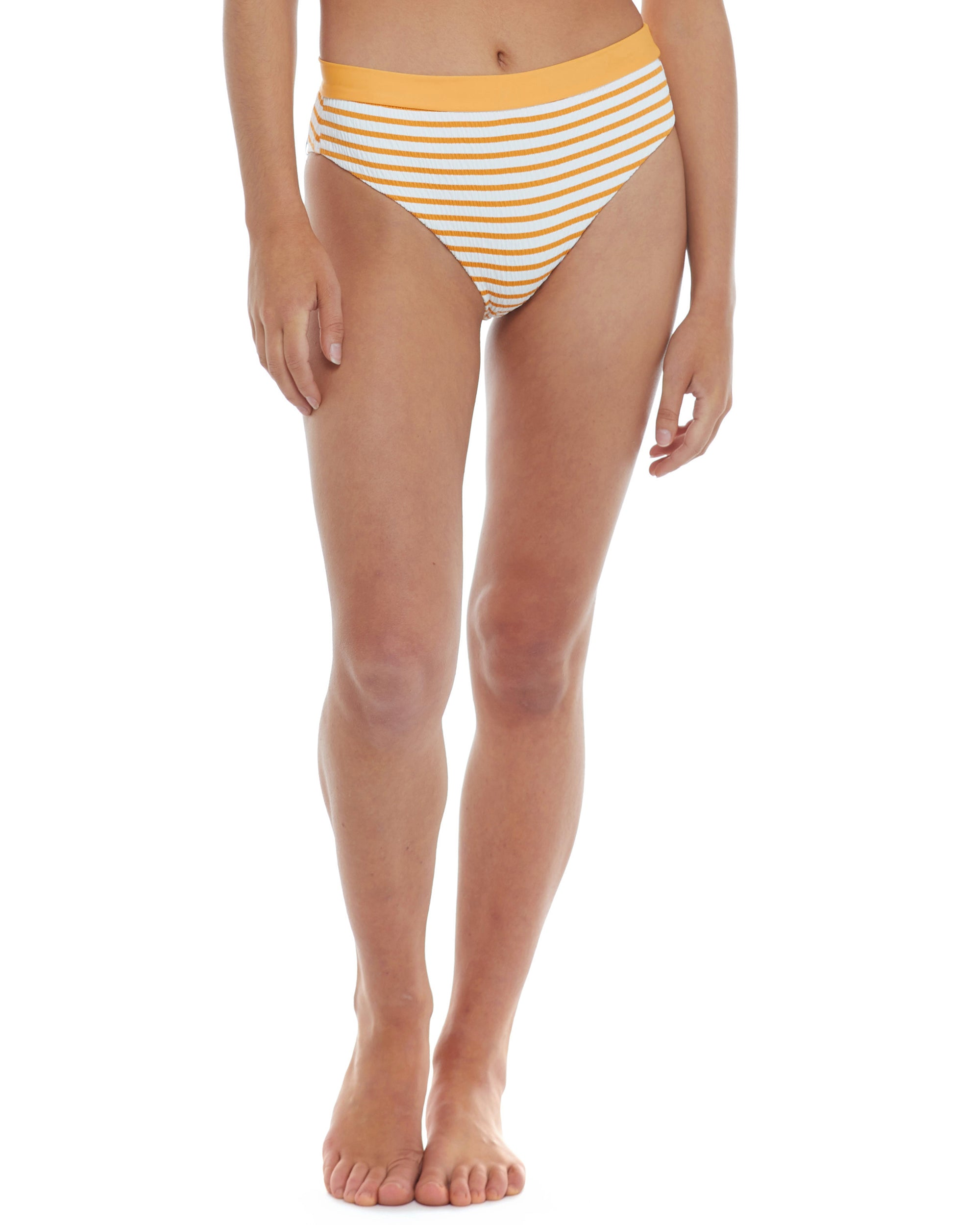 French Riviera Marlee High-Waist Bikini Bottom - Sundream