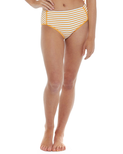 French Riviera Retro High-Waist Bikini Bottom - Sundream