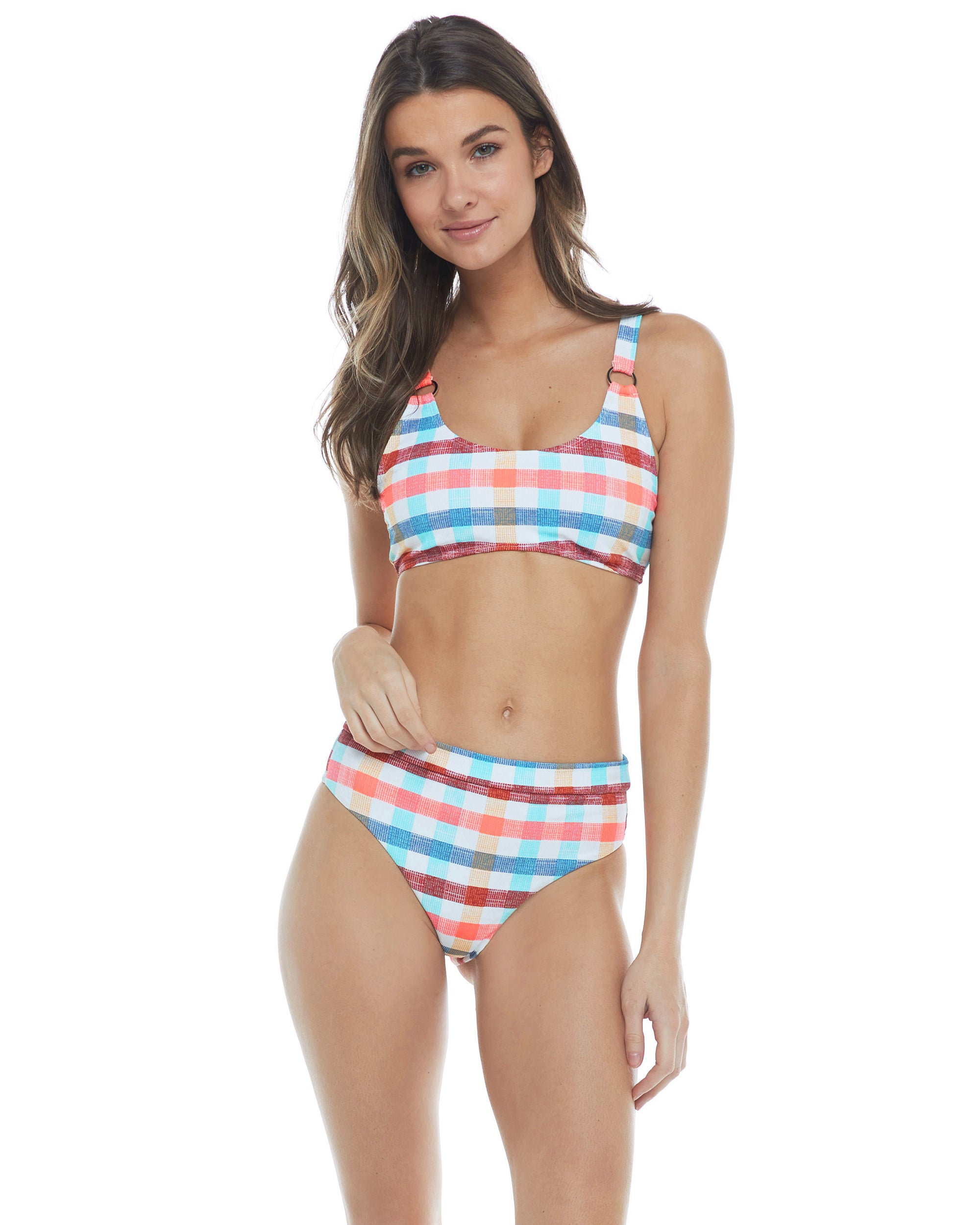 La La Land Milan Scoop Bikini Top - Combo Multi