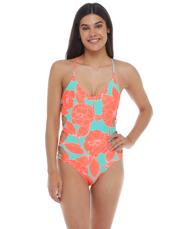 Tikahau Crissy One-Piece Swimsuit - Combo Spark