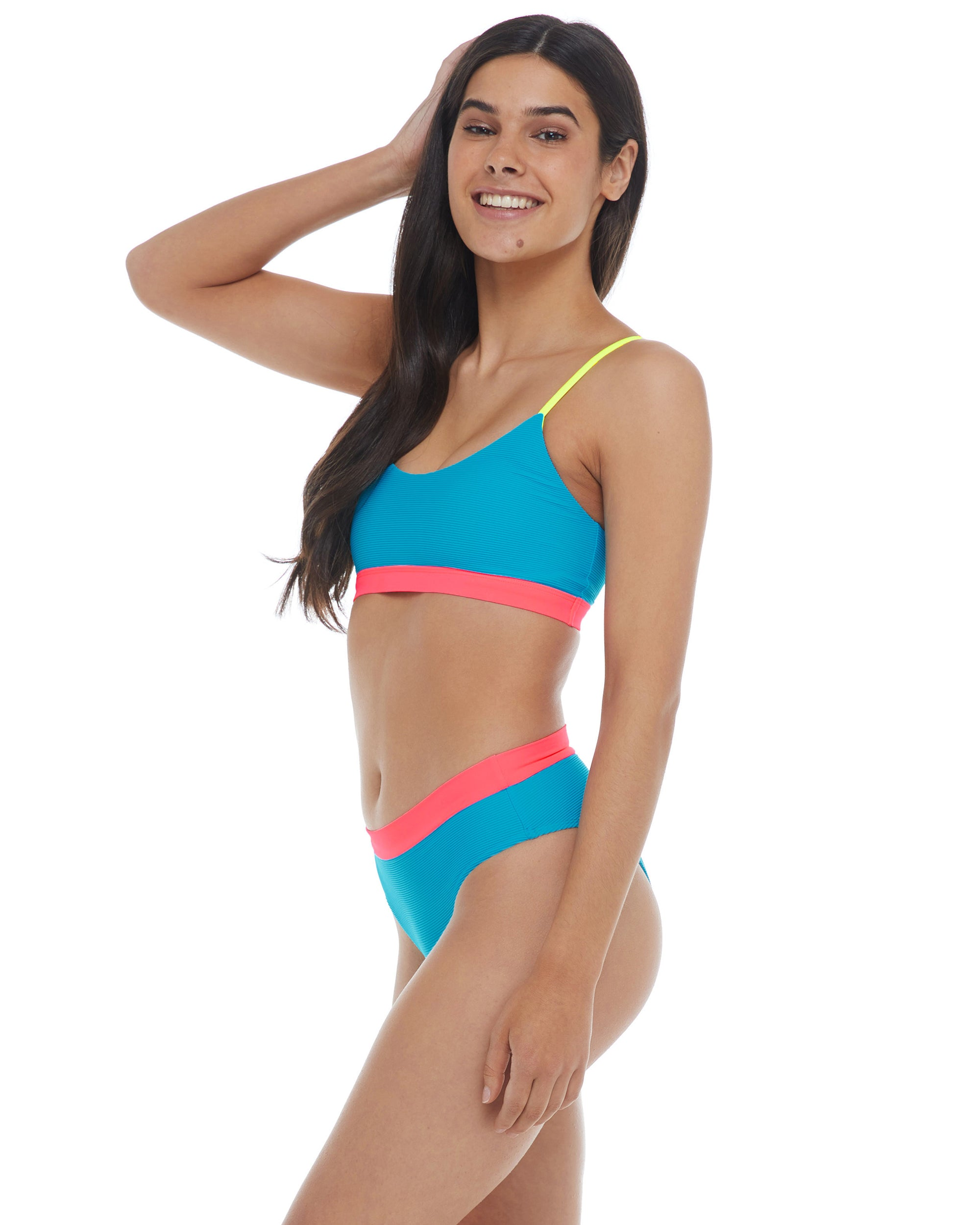 Spectrum Aro Scoop Bikini Top - Multi