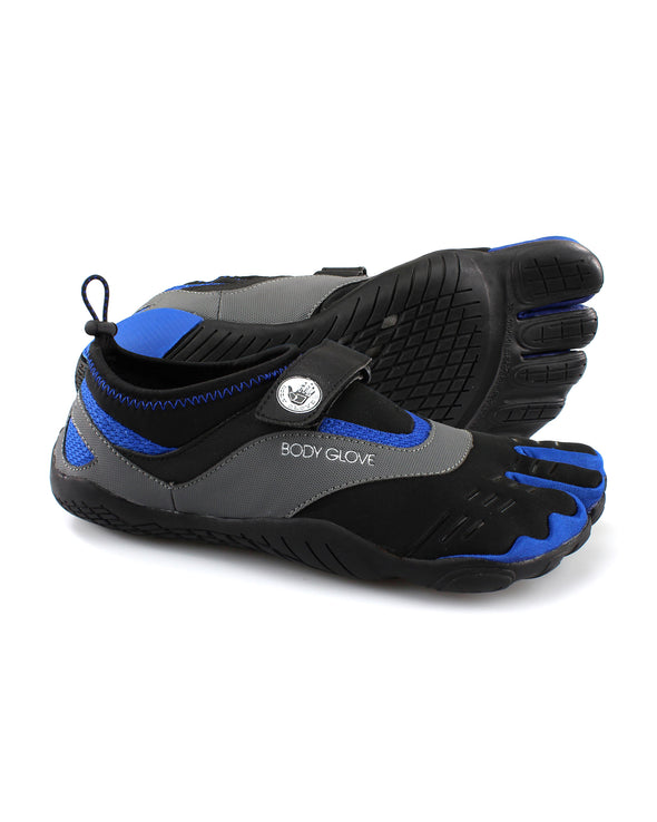 Men's 3T Barefoot Max Water Shoe in Black/Blue