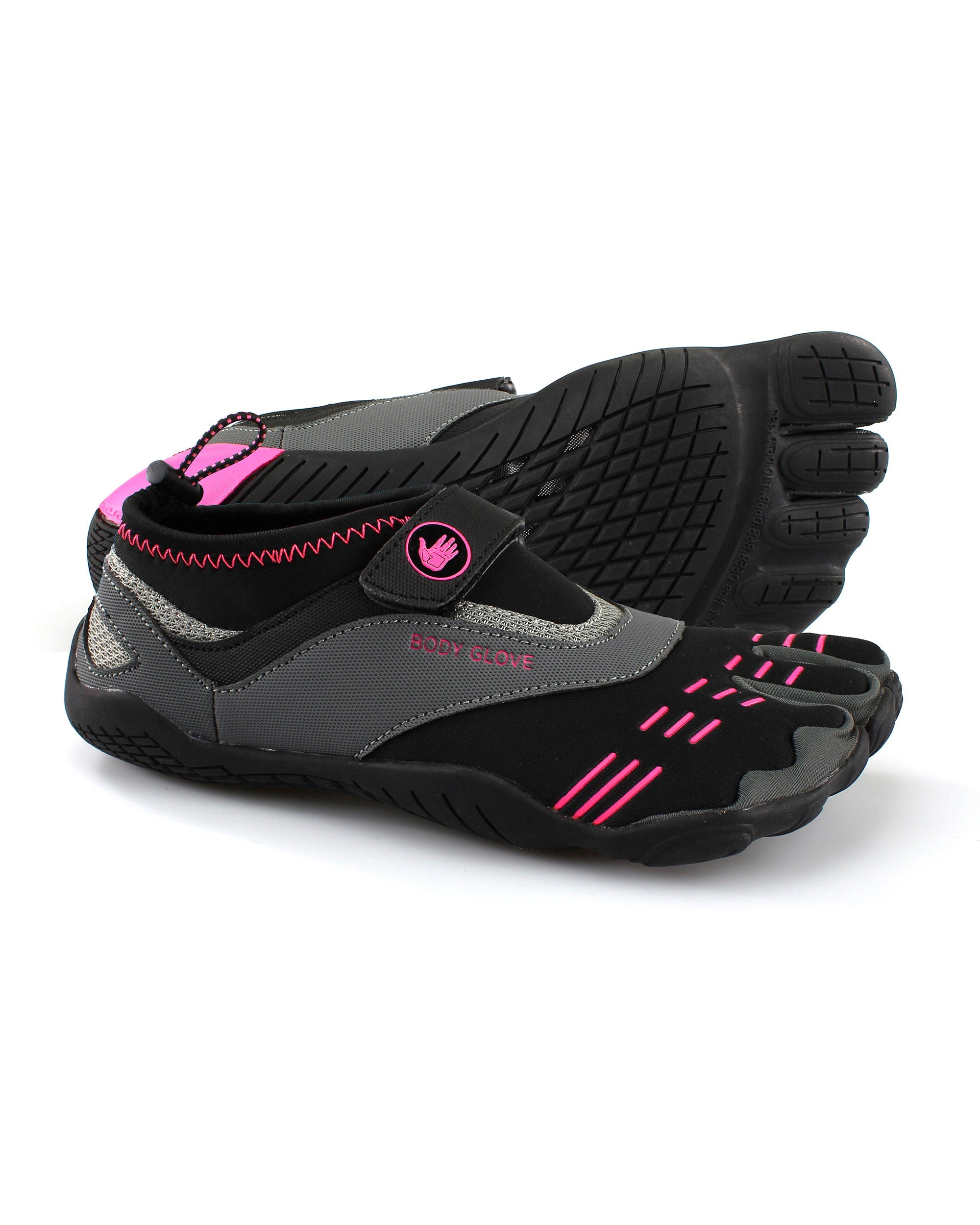 Women's 3T Barefoot Max Water Shoes - Black/Neon Pink