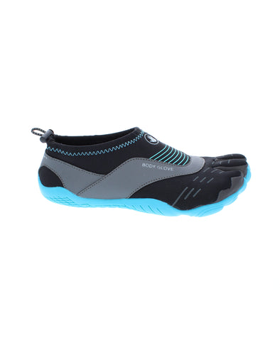 Women's 3T Barefoot Cinch Water Shoes - Black/Oasis Blue