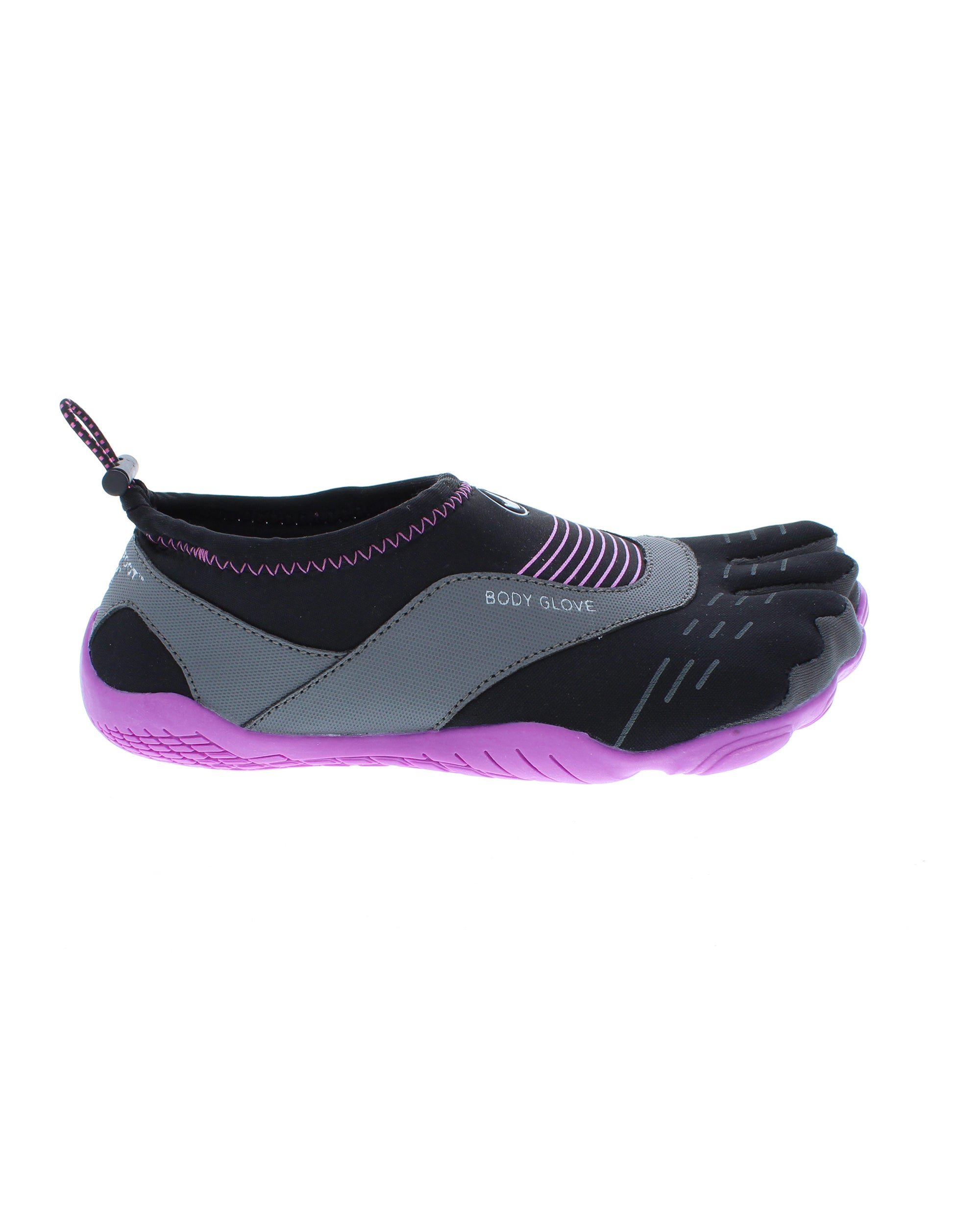 Women's 3T Barefoot Cinch Water Shoes - Black/Oasis Purple