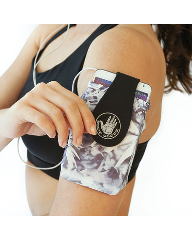 Fitness Sport Phone/ID Armband - Abstract Palm