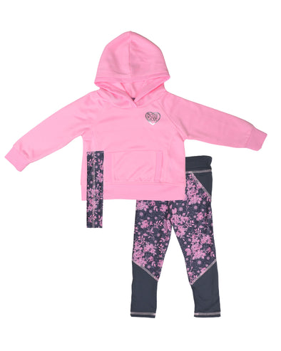 Girls' Two-Piece Set in Pink  12m - 24m