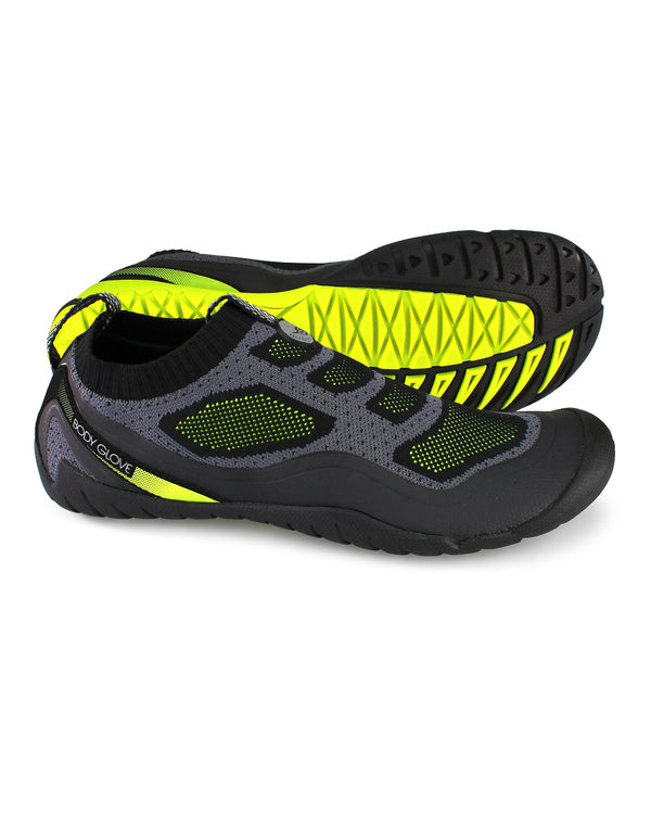 3475b1fcae55 Men s AEON Knit Water Shoes in Black Yellow