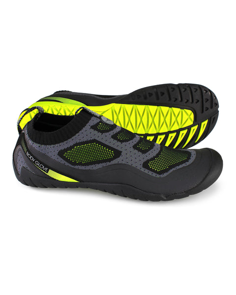 Men's AEON Knit Water Shoes in Black/Yellow