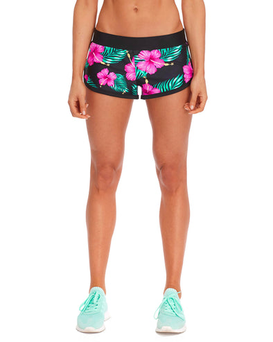 Pulse Performance Short in Molokai - Black