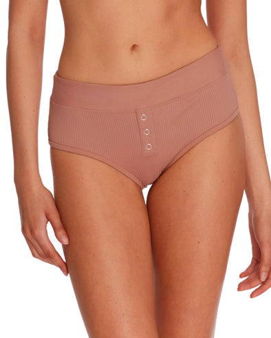 Ibiza Retro Swim Bottom - Bronze