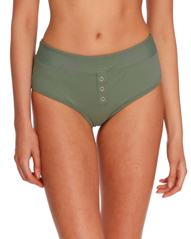 Ibiza Retro Swim Bottom - Cactus