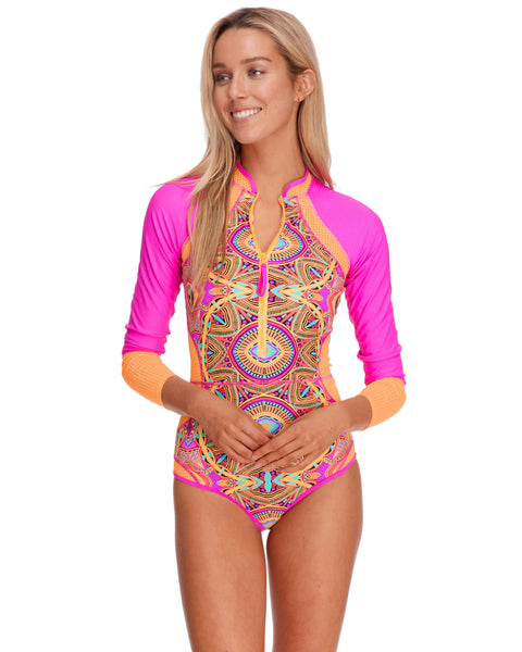 Iggy Paradise One-Piece Paddle Suit - Mango