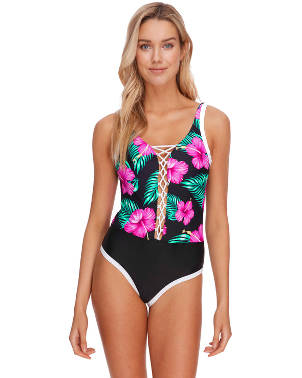 Molokai Mey One-Piece - Black