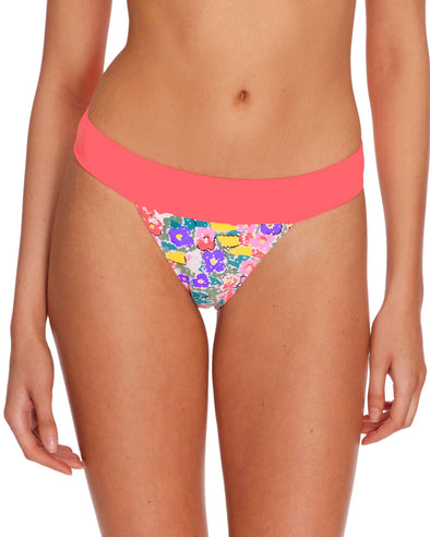 Vogue Print Dreamlover Swim Bottom - Multi