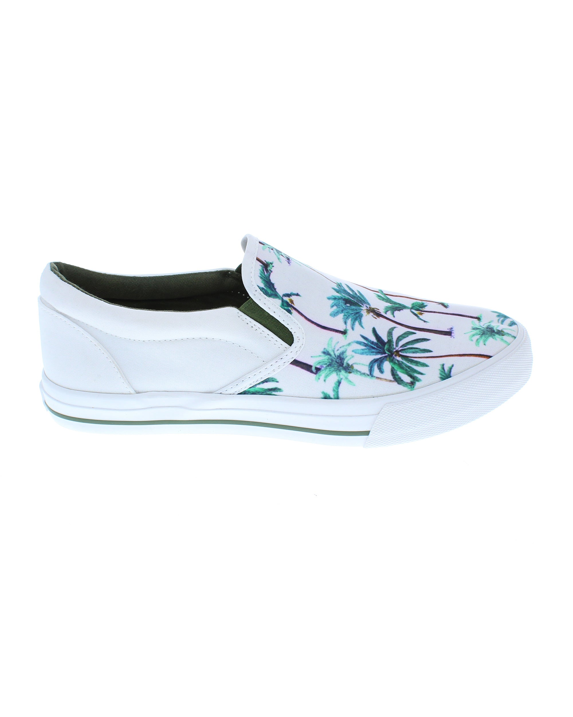 Bali Slip-On Sneakers - Tuile Palm Tree Print