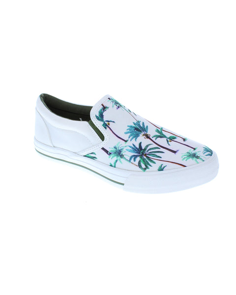 Bali Shoe - Tuile Palm Tree Print