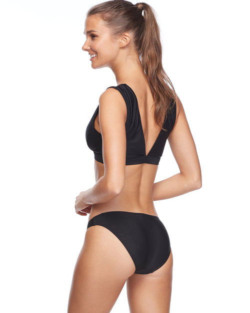 Smoothies Bikini Swim Bottom - Black