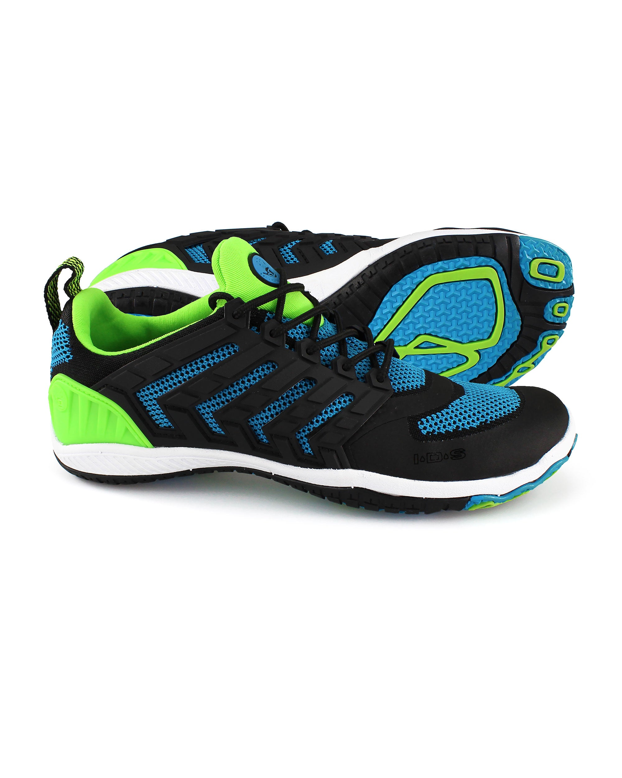 Women's Dynamo Ribcage Water Shoes - Neon Blue/Neon Green