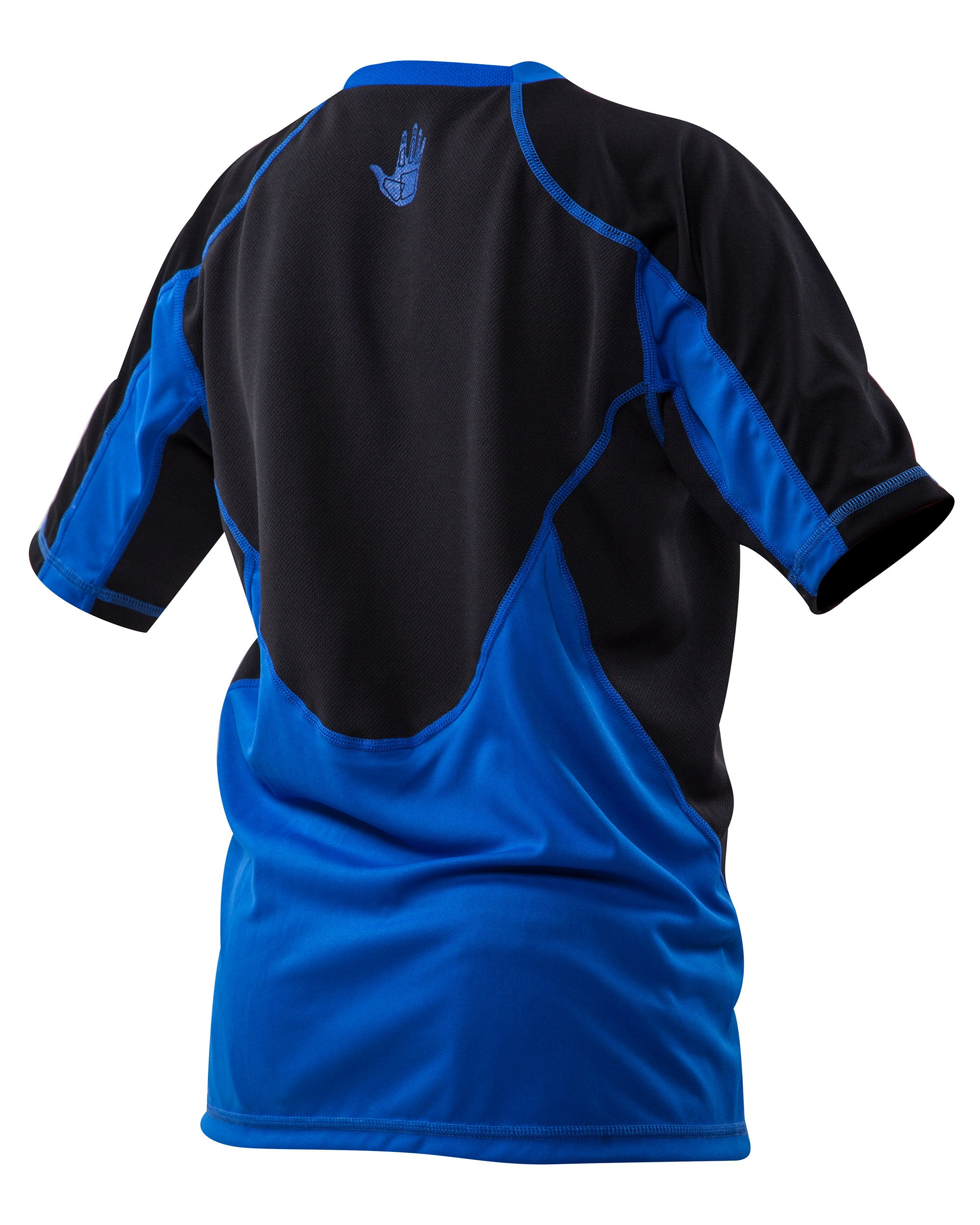 Youth Loosefit Short-Arm Rash Guard - Royal