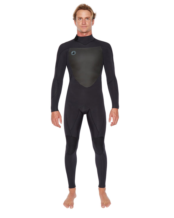 Siroko 3/2mm Back-Zip Fullsuit - Blue