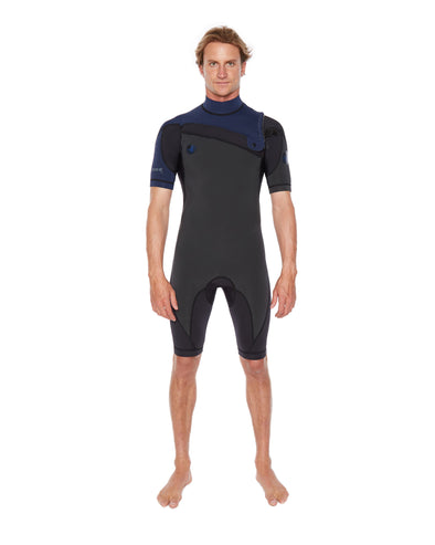 PR1ME 2mm Short Sleeve Men's Springsuit - Navy