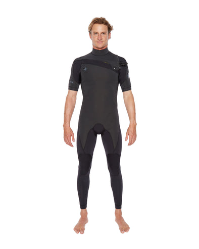 PR1ME 2mm Short Sleeve Men's Fullsuit - Black