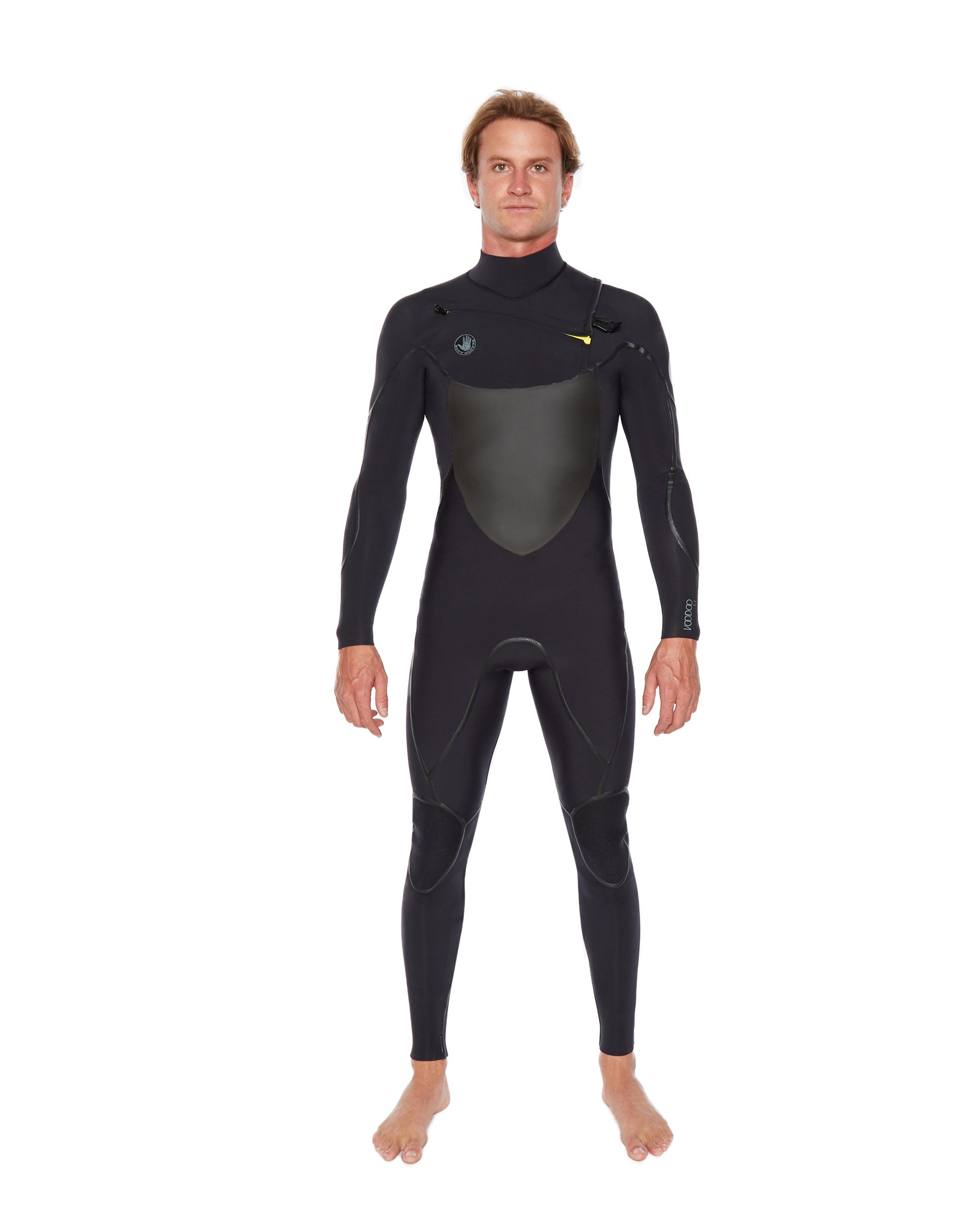 Voodoo Slant-Zip Men's Fullsuit 3/2mm - Black