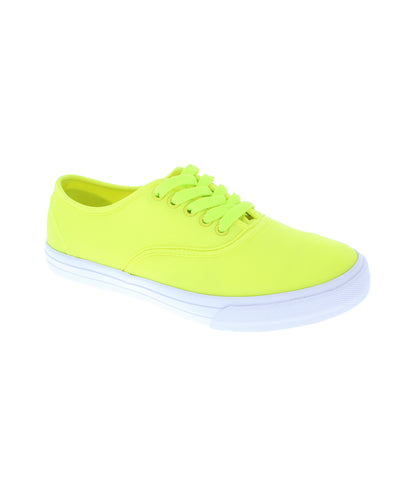 Fiji Lace Up - Yellow