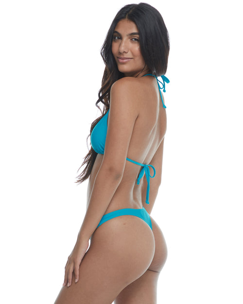 Smoothies Thong Swim Bottom - Freshwater
