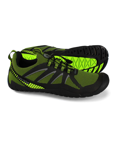 Men's Hydra Knit Water Shoes in Black/Yellow
