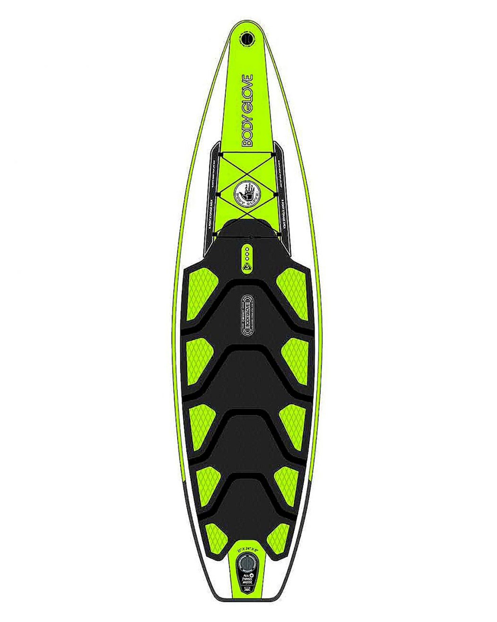 Outfitter 11 Commercial-Grade Inflatable Stand Up Paddle Board (ISUP) with Bag, Paddle & Pump