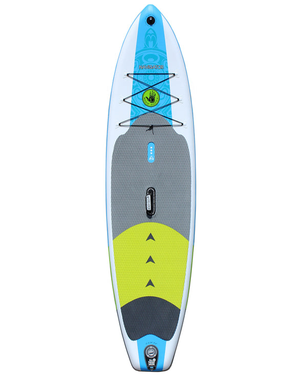 Navigator 11' Inflatable Stand Up Paddle Board (ISUP) with Bag, Paddle & Pump