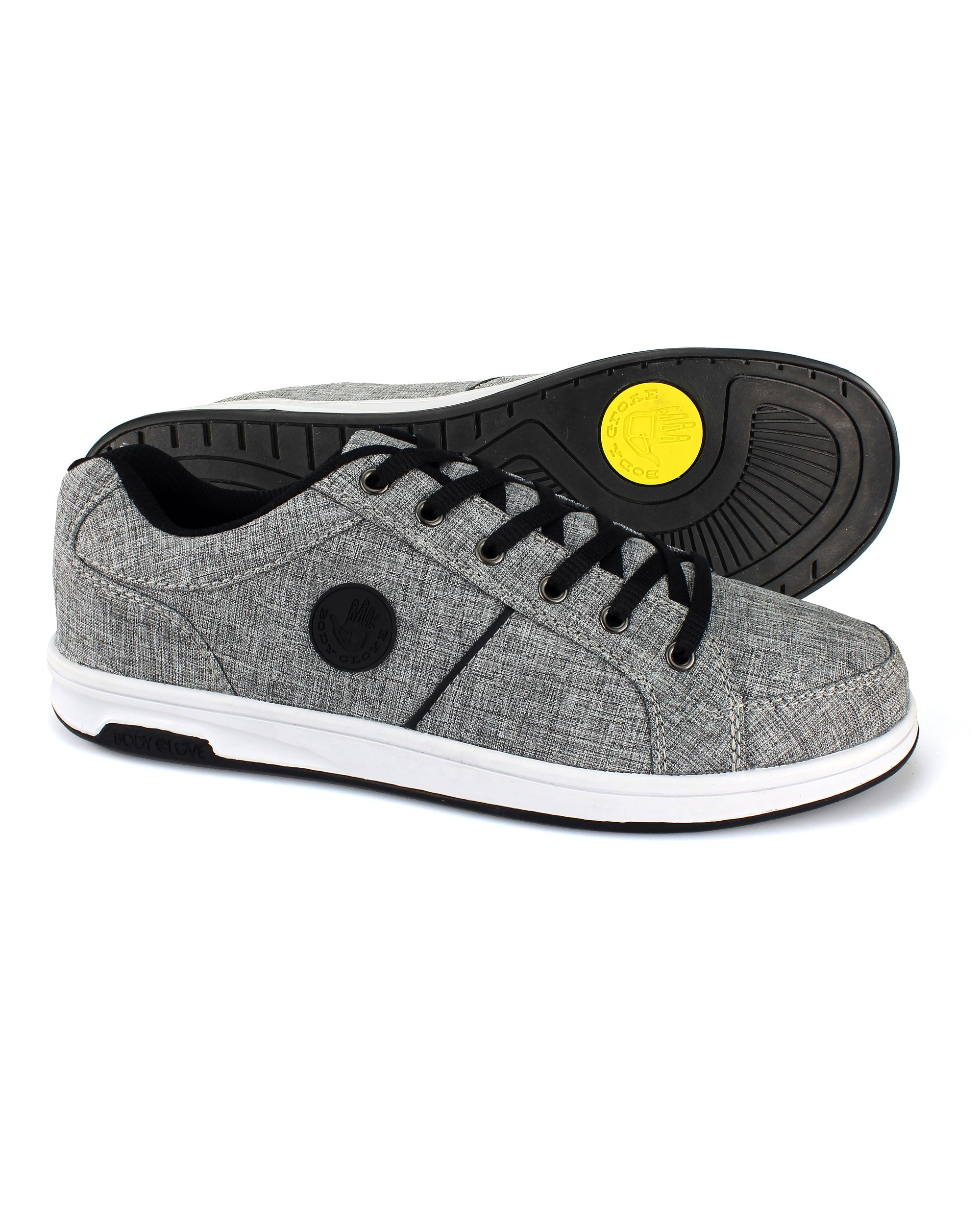 bb066adaa2e Men s Kauai Grey Heather Canvas Sneaker – Body Glove