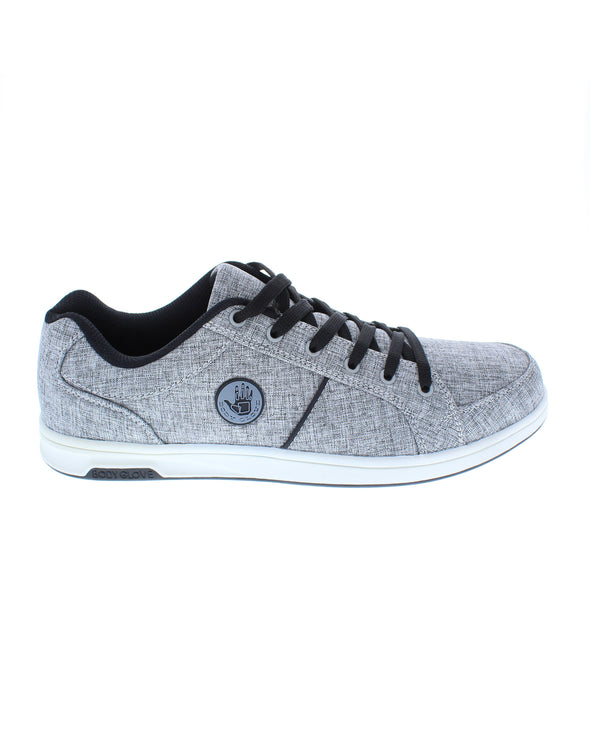 Men's Kauai Grey Heather Canvas Sneaker