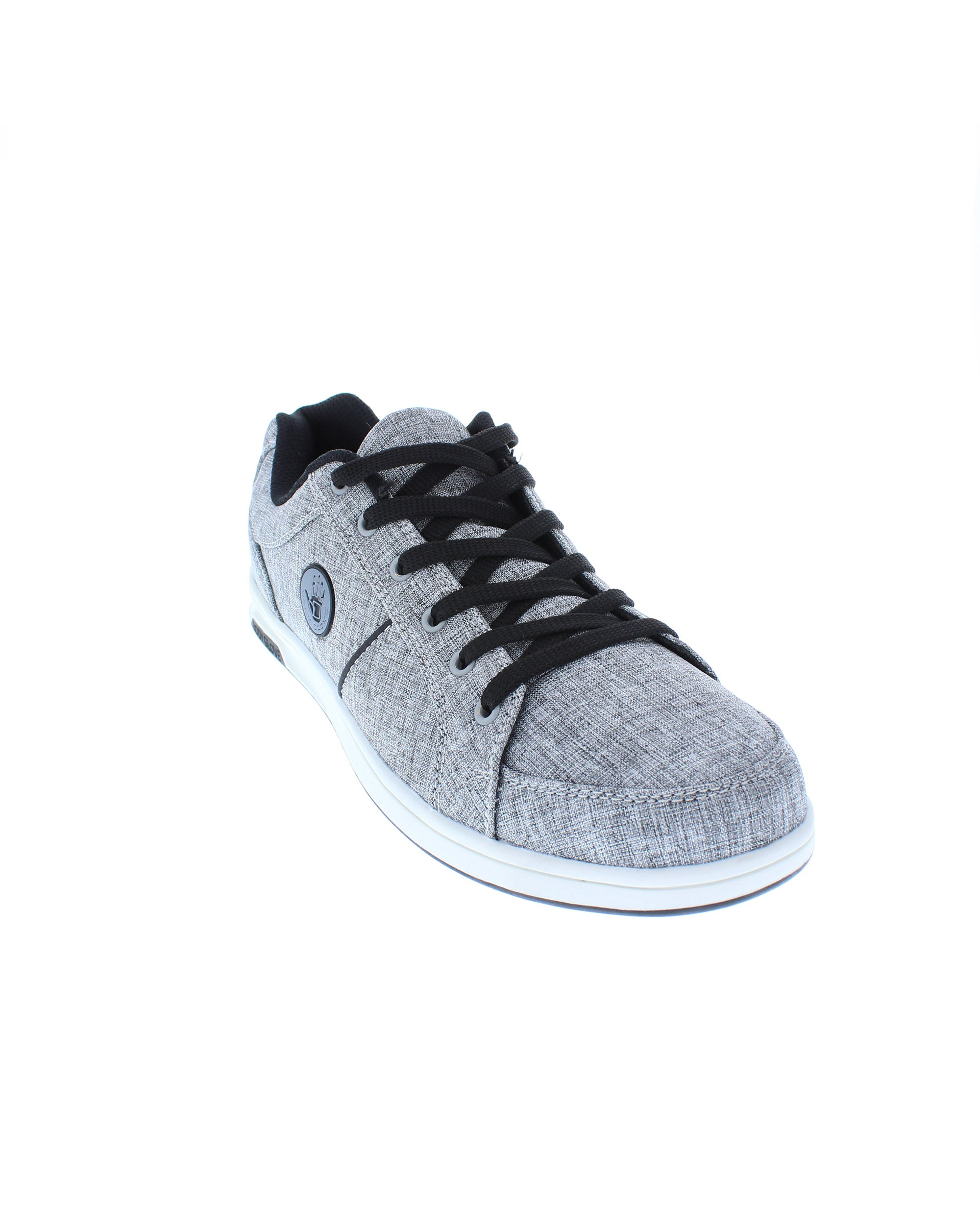 bef750d39f3 Hover or Click to Enlarge. Men s Kauai Grey Heather Canvas Sneaker Men s  Kauai Grey Heather Canvas Sneaker ...